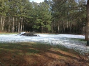 SOLD!  26 Acres of Hunting Land with Home Site For Sale in Accomack County VA!