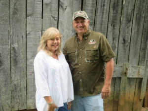 Johnny Seamster and Kelly Chaney of the new Mossy Oak Properties Kenbridge, Virginia Office.