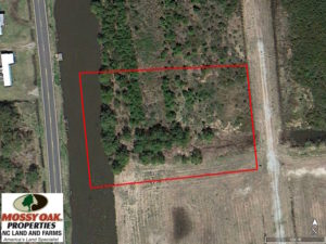 SOLD!  1.17 Acres of Residential Waterfront Lot for Sale in Hyde County NC!