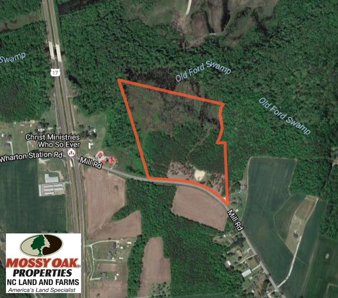 SOLD!  23 Acres Hunting and Residential Land For Sale in Beaufort County NC!