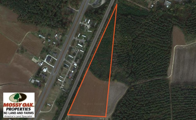 SOLD!  11.75 Acres of Recreational and Farm Land For Sale in Wilson County NC!