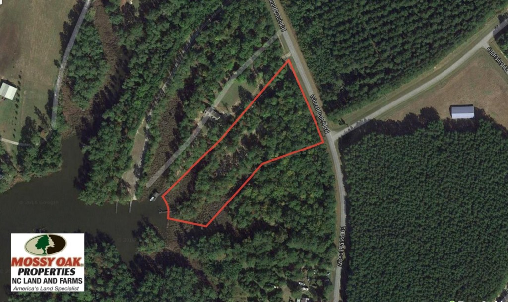 SOLD!  3.76 Acres of Waterfront Land For Sale In Beaufort County NC!