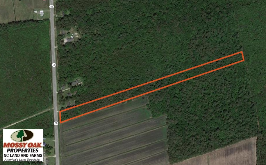 SOLD!  5.04 Acres of Residential and Hunting Land For Sale in Lenior County NC!