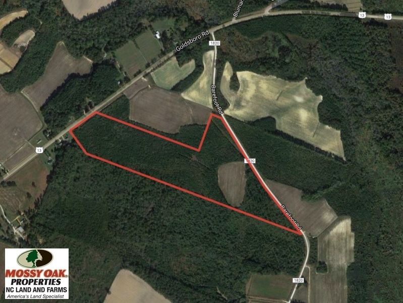 SOLD!  50 Acres of Farm and Timber Land For Sale in Cumberland County NC!