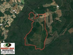 SOLD!  1383 Acres of Timber and Farm Land For Sale in Robeson County NC!