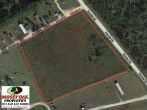 SOLD!  3.36 Acre Lot For Sale in Columbus County NC!
