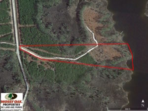 SOLD!  10.21 Acres of Waterfront Land For Sale in Hyde County NC!
