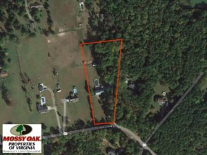 SOLD!  3.4 Acres of Residential Farm Land with Home in Isle of Wight County VA!