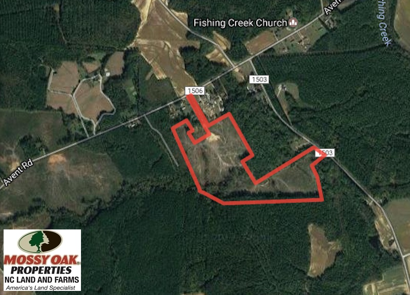 SOLD!  42 Acres of Hunting Land in Nash County NC!