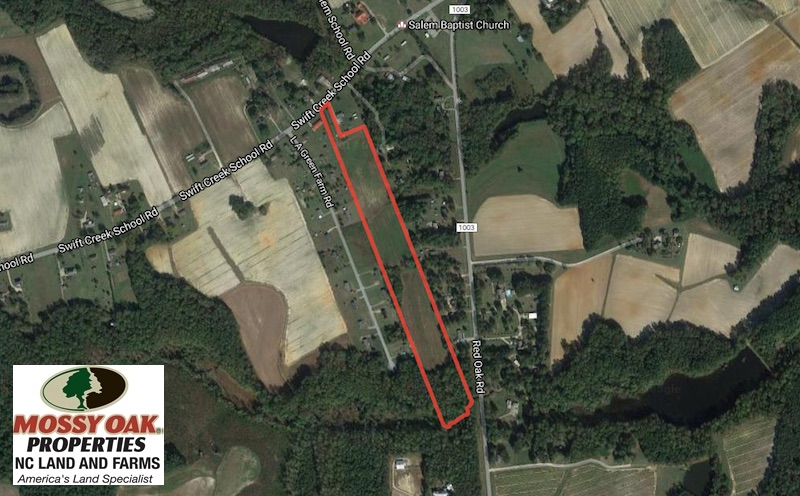 SOLD!  15 Acres of Farm Land For Sale in Nash County NC!