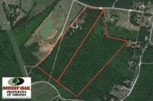UNDER CONTRACT!  42 Acres of Residential and Recreational Land For Sale in Charlotte County VA!