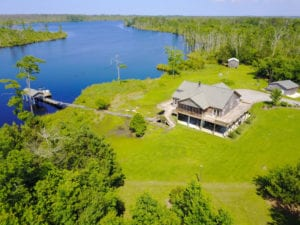 SOLD!  Waterfront Home with 11 Acres of Land For Sale in Tyrrell County NC!