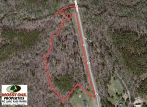 SOLD!  9.59 Acres of Land For Sale in Warren County NC!