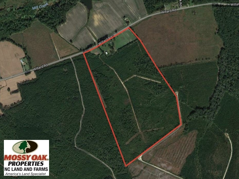 SOLD!  106 Acres of Residential Farm and Timber Land For Sale in Sampson County NC!