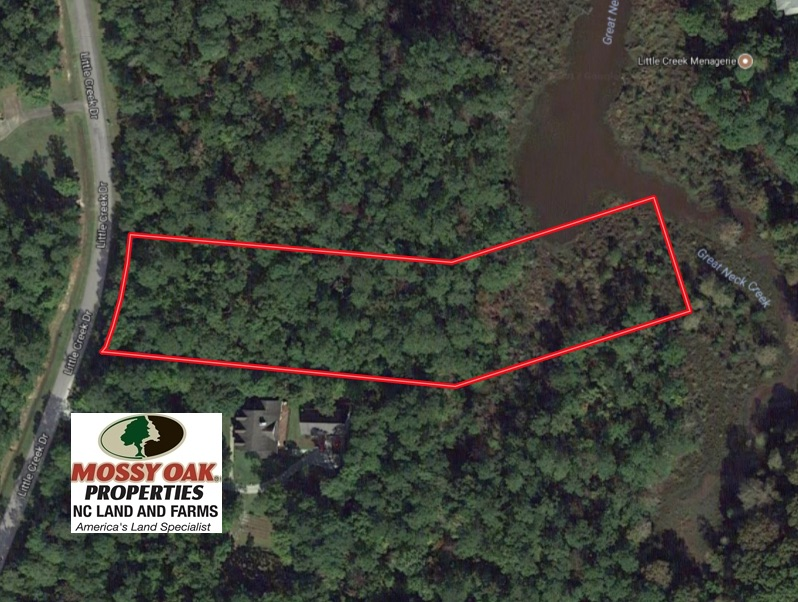 SOLD!  2.01 Acre Residential Waterfront Lot for Sale in Craven County NC!
