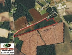 SOLD!  23 Acres of Farm and Timber Land For Sale in Sampson County NC!
