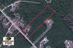 SOLD!  5.46 Acres of Residential Land with Home For Sale in Prince George County VA!