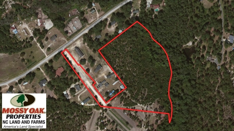 SOLD!  8.56 Acres of Residential and Recreational Land For Sale In Wayne County NC!