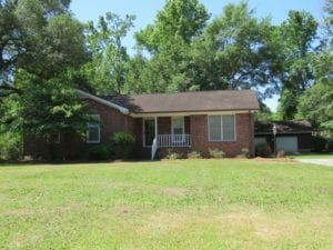 SOLD!  .46 Acre Residential Lot with Brick Home For Sale in Brunswick County NC!