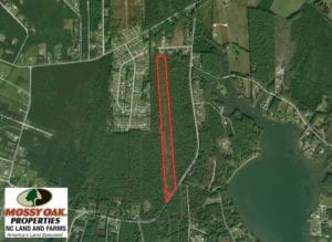 SOLD!  19.72 Acres of Residential Land For Sale in Carteret County NC!