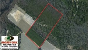SOLD!  39.7 Acres of Hunting  and Timber Land For Sale in Columbus County NC!