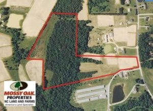SOLD!  30.30 Acres of  Farm Land For Sale in Alamance County NC!