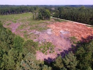 UNDER CONTRACT!  9.44 Acres of Hunting and Recreational Land For Sale in Lunenburg County VA!