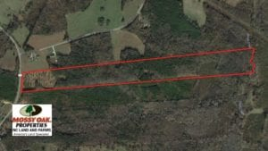 SOLD!  40.49 Acres of Timber and Hunting Land For Sale in Warren County NC!