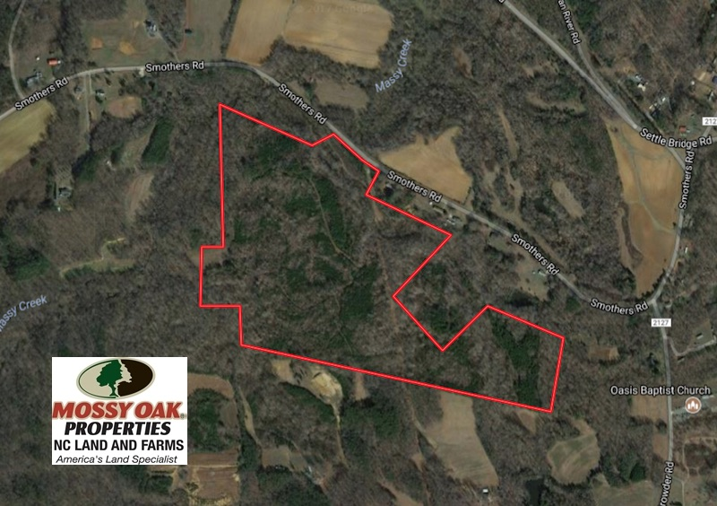 SOLD!  81.57 Acres of Prime Hunting and Investment Land For Sale in Rockingham County NC!