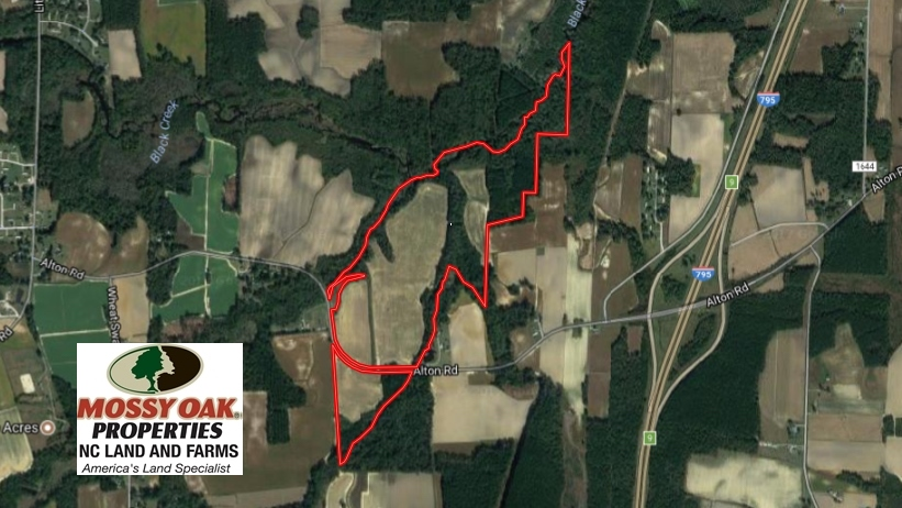 SOLD!  128.25 Acres of Farm and Timber Land For Sale In Wilson County NC!