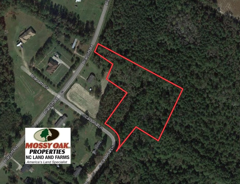 SOLD!  3.6 Acres of Recreational Timber Land For Sale in Robeson County NC!