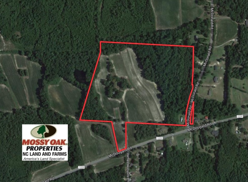27.62 Acres of Farm and Timber Land For Sale in Harnett County NC!