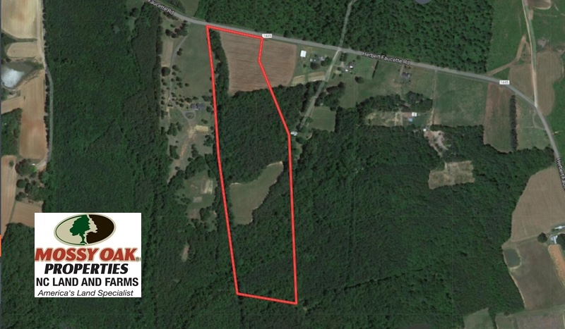 SOLD!  24.6 Acres of Farm and Timber Land For Sale in Granville County NC!