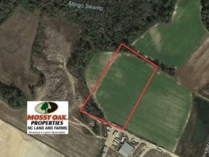 SOLD!  6.6 Acres of Farm and Hunting Land For Sale in Sampson County NC!