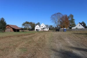 UNDER CONTRACT!  3 Acres of Residential Land with Home for Sale in Chesapeake VA!