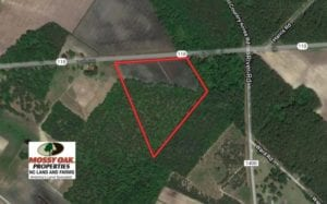 UNDER CONTRACT!  14.7 Acres of Farm and Residential Land For Sale in Craven County NC!