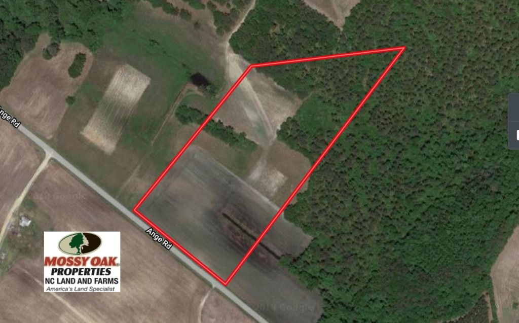 SOLD!  13.5 Acres of Farm and Timber Land For Sale In Craven County NC!