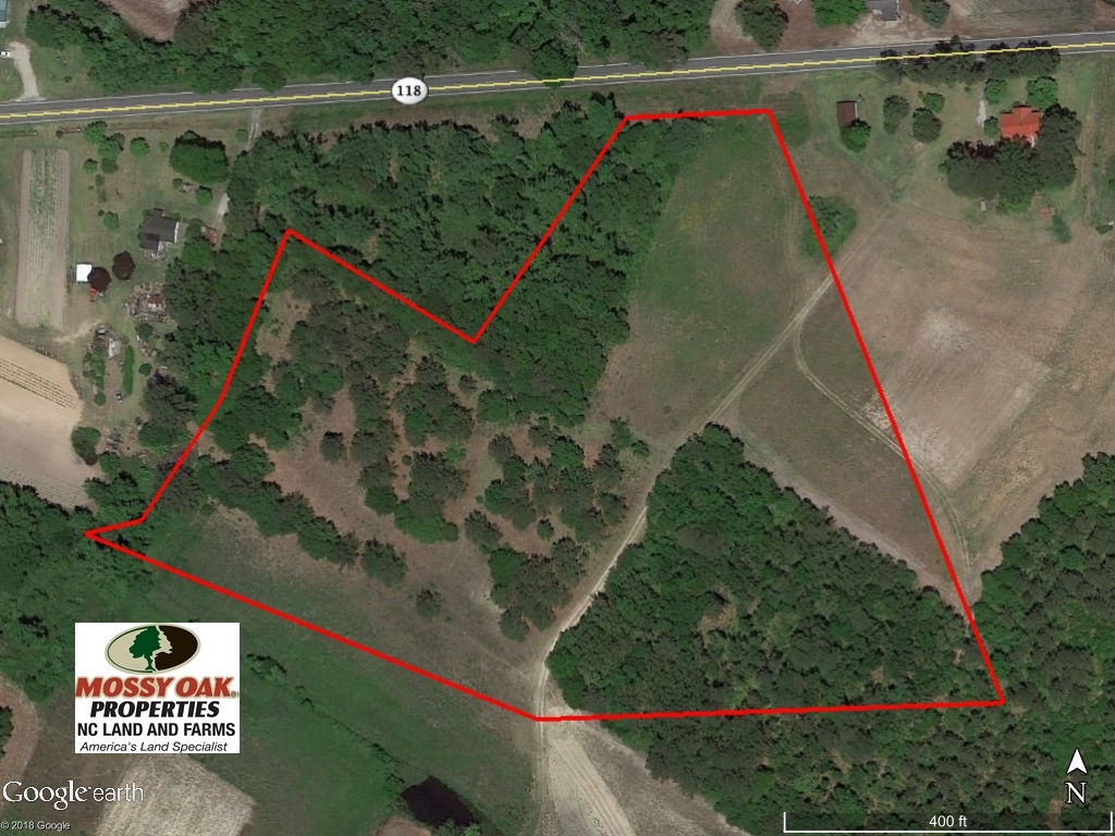 SOLD!  11 Acres of Residential and Recreational Land For Sale in Craven County NC!