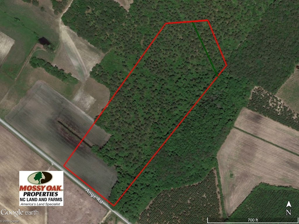 SOLD!  18 Acres of Residential and Recreational Land For Sale in Craven County NC!