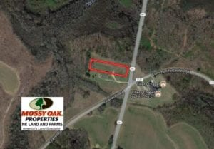 SOLD!  1.08 Acres of Residential Land For Sale In Halifax County NC!