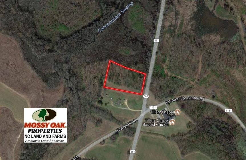SOLD!  2.5 Acres of Residential Land For Sale In Halifax County NC!