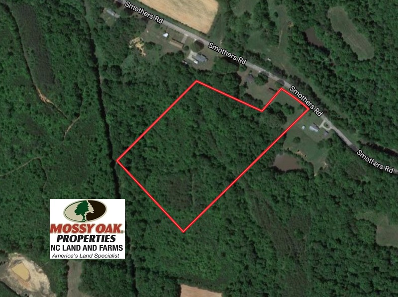 SOLD!  12.80 Acres of Recreational  Land with Home Site For Sale in Rockingham County NC!