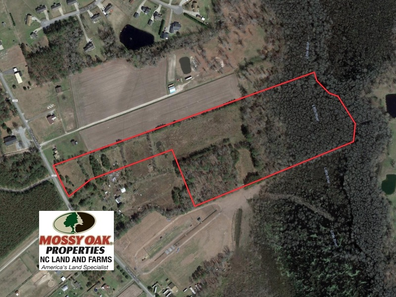 SOLD!  21 Acres of Farm and Timber Land For Sale in Perquimans County NC!