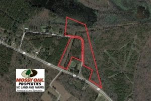 SOLD!  11.4 Acres of Hunting Land with Duck Swamp For Sale in Halifax County NC!