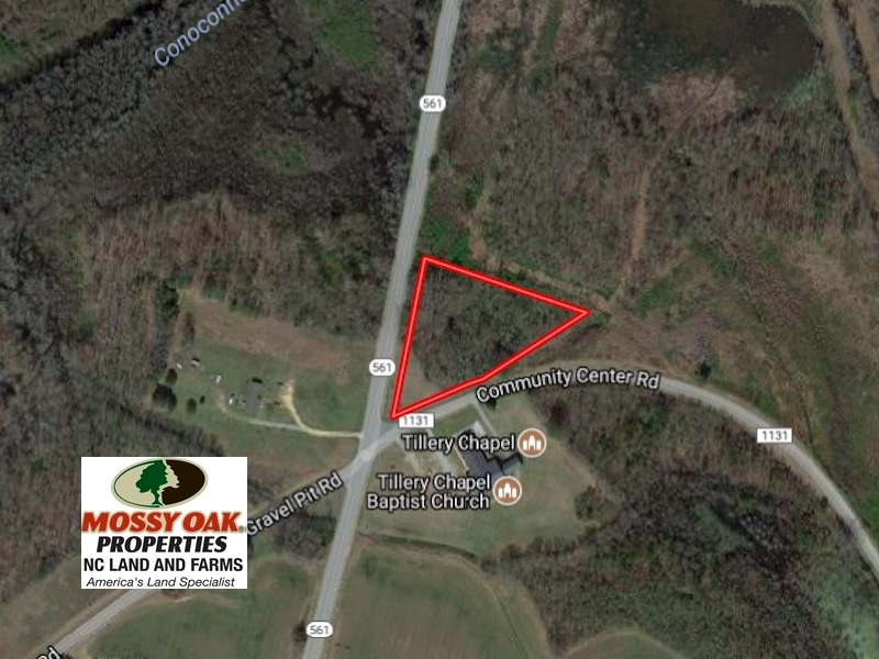 SOLD!  1.85 Acres of Residential Land For Sale In Halifax County NC!