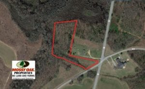 SOLD!  4.16 Acres of Residential Land For Sale In Halifax County NC!