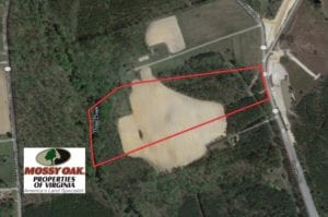 UNDER CONTRACT!  24 Acres of Creek Front Commercial Land For Sale in Greensville County VA!