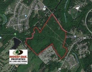 SOLD!  100 Acres of Development Land For Sale in Alamance County NC!