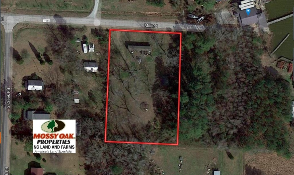 SOLD!  1.5 Acre Lot with Water Front View and Home For Sale in Beaufort County NC!