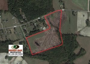 SOLD!  32 Acres of Farm and Timber Land For Sale in Nash County NC!